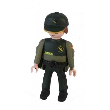 Muñeco articulado Guardia Civil
