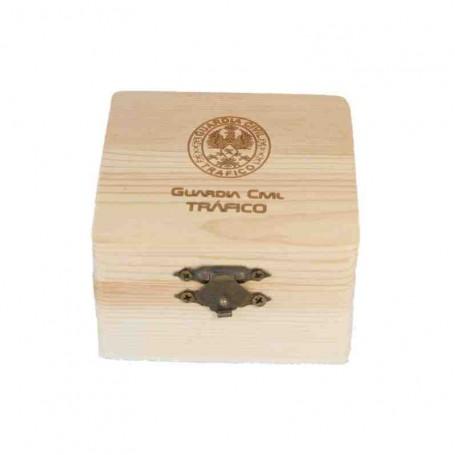 Caja madera Tráfico 80x80 mm