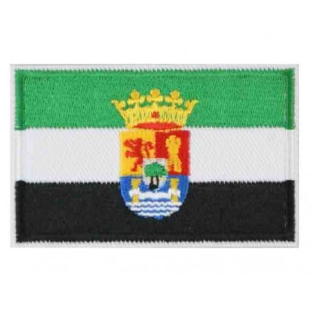 Parche bandera Extremadura 8 cm