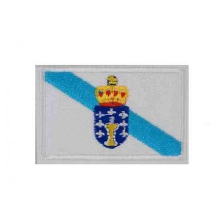 Parche bandera Galicia 5 cm