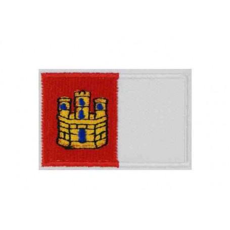 Parche bandera Castilla la Mancha 5 cm
