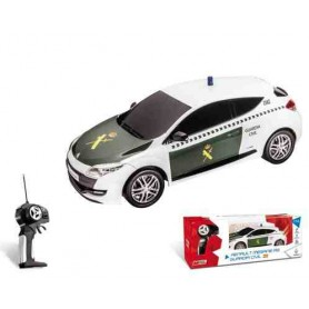Coche teledirigido Megane Guardia Civil