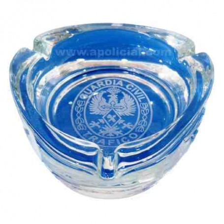 Cenicero cristal emblema