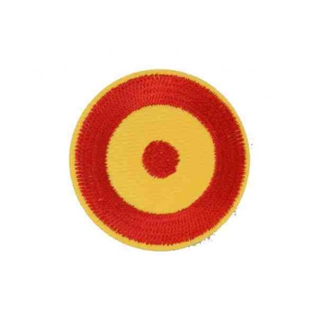 Parche círculo España 5 cm