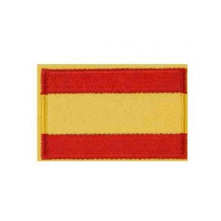 Parche bandera España 6 cm