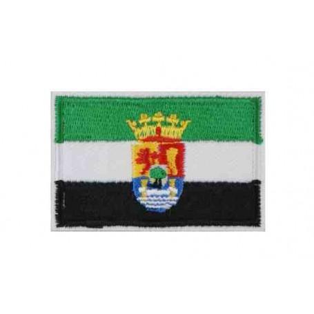 Parche bandera Extremadura 6 cm