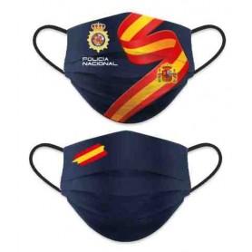 Mascarilla reversible Policía Nacional