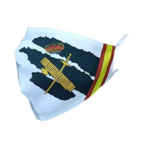 Mascarilla personalizable Guardia Civil