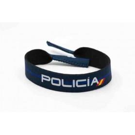 Cinta gafas neopreno Policía Nacional