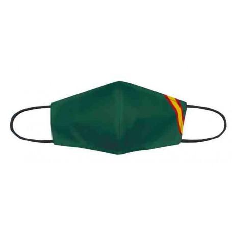 Mascarilla homologada Verde bandera