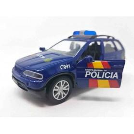Coche metálico Policía Nacional