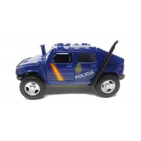 Coche metálico Hummer Policía Nacional