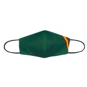 Mascarilla homologada Niño lisa verde bandera