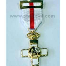 Medalla Cruz Mérito Militar metal