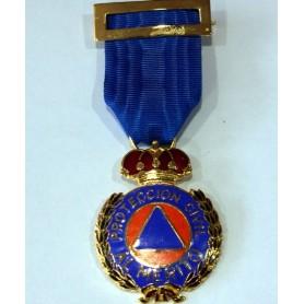 Medalla Mérito Protección Civil metal