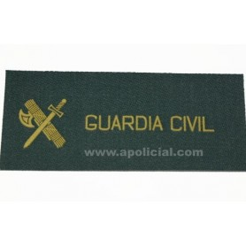 Galleta tela Guardia velcro