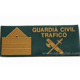 Galleta anorak Tráfico velcro Sargento 1º