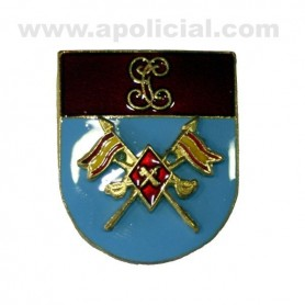 Distintivo Relieve Titulo Escuadrón de Caballería