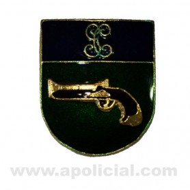 Distintivo Relieve Permanencia Interveción de Armas