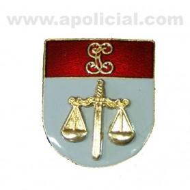 Distintivo Relieve Titulo Policía Judicial