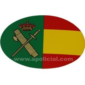 Pegatina grande bandera/GC