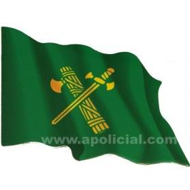 Pegatina grande bandera verde