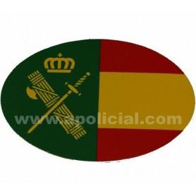 Pegatina pequeña bandera/GC