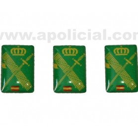 Pegatina volumen pequeño 3 emblema GC