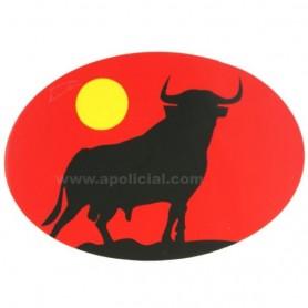Pegatina grande ovalo Toro