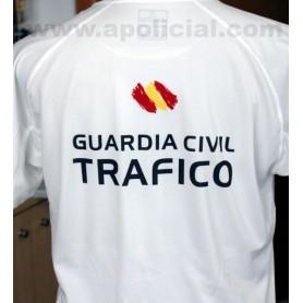 Camiseta Técnica Tráfico blanca