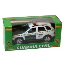 Coche metálico todoterreno Guardia Civil